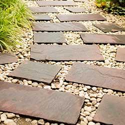 Beautiful and Elegant Stone Pathway