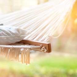 Hammock for Personal Space in Backyard